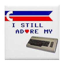 I Still Adore My C64 Tile Coaster