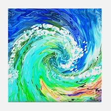 Waves Tile Coaster