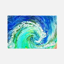 Waves Rectangle Magnet (100 pack)