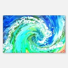 Waves Decal