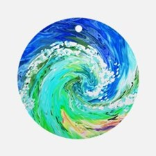 Waves Ornament (Round)