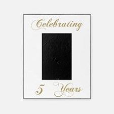 5th Wedding Anniversary Picture Frame