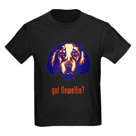 Llewellin Setter Kids Dark T-Shirt
