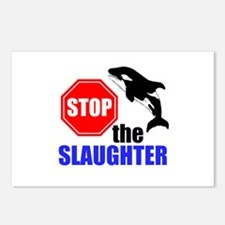 Stop The Slaughter Postcards (Package of 8)