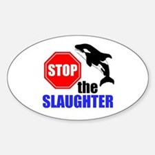 Stop The Slaughter Bumper Stickers