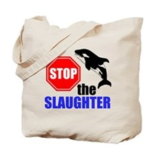 Stop The Slaughter Tote Bag