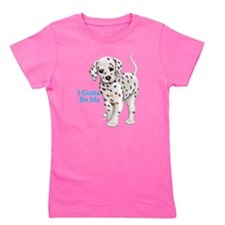 Cute Colorful puppy Girl's Tee