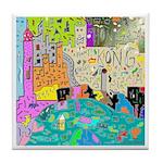 Kong World Tile Coaster