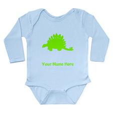 Stegosaurus Silhouette (Green) Body Suit