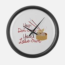 You Dim Sum Large Wall Clock