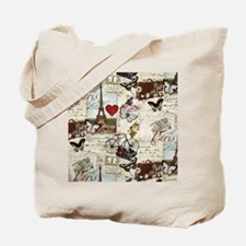 Paris Memories Tote Bag