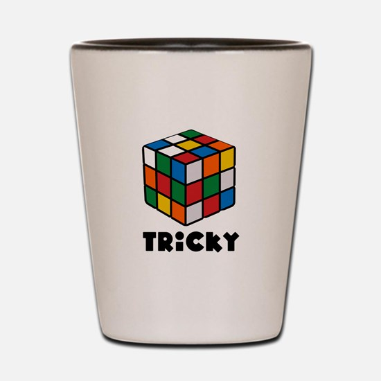 Tricky Rubiks Shot Glass