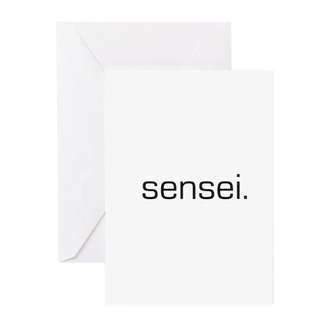 Sensei Greeting Cards (Pk of 10)