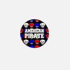 American Pirate Mini Button