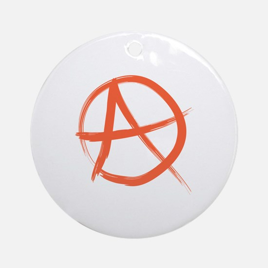 Anarchy Symbo Ornament (Round)