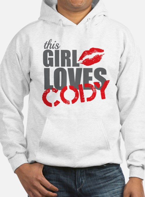this girl loves cody Hoodie