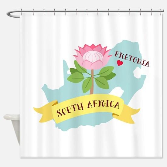 Pretoria South Africa Shower Curtain