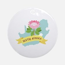 South Africa Ornament (Round)