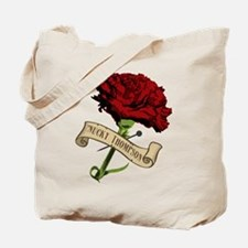 Nucky's Red Carnation Boardwalk Empire Tote Bag