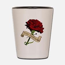 Nucky's Red Carnation Boardwalk Empire Shot Glass