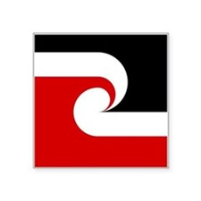 "Maori Flag Square Sticker 3"" x 3"""