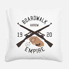 Harrow Boardwalk Empire Square Canvas Pillow