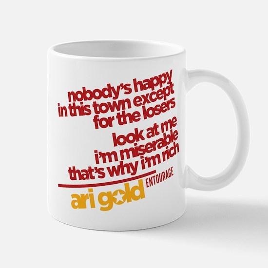 Ari Nobody's Happy Entourage Mugs