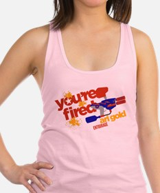 Ari Gold Paintball You're Fired Racerback Tank Top