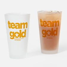 Entourage Team Gold Drinking Glass