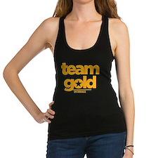 Entourage Team Gold Racerback Tank Top