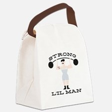 Strong L'il Man Canvas Lunch Bag