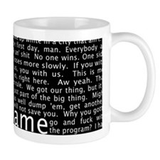 The Wire Epigraph Pattern Mugs