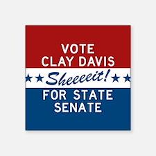 Vote Clay Davis The Wire Sticker