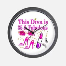 35TH PRIMA DONNA Wall Clock