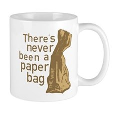 Paper Bag The Wire Mugs