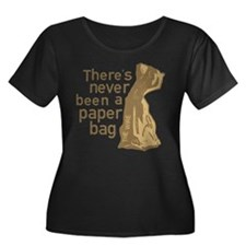 Paper Bag The Wire Plus Size T-Shirt