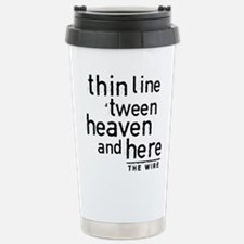 Thin Line The Wire Travel Mug