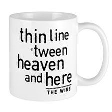 Thin Line The Wire Mugs