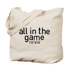 All In The Game The Wire Tote Bag