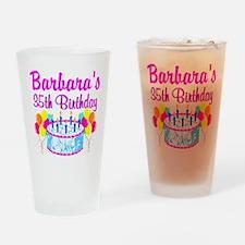 35TH PRIMA DONNA Drinking Glass