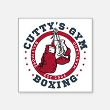 Cutty's Gym The Wire Sticker