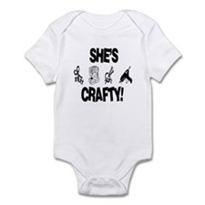 Shes Crafty Infant Bodysuit