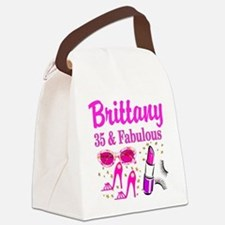 35TH PRIMA DONNA Canvas Lunch Bag