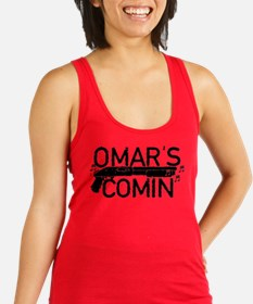 Omar's Comin The Wire Racerback Tank Top