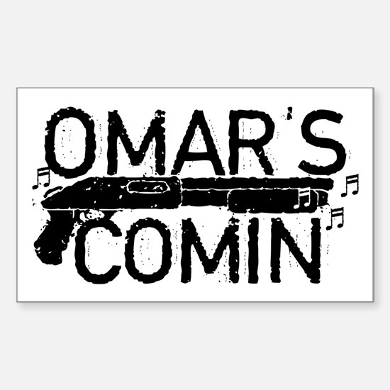 Omar's Comin The Wire Decal