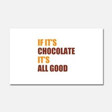 Chocolate Car Magnet 20 x 12