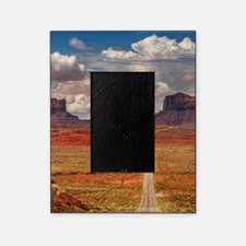 Road Trough Desert Picture Frame