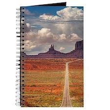 Road Trough Desert Journal