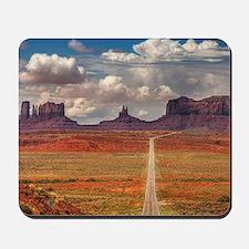 Road Trough Desert Mousepad