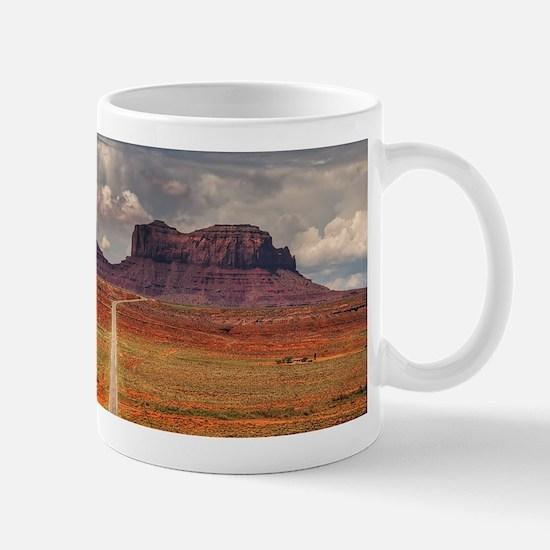 Road Trough Desert Mugs